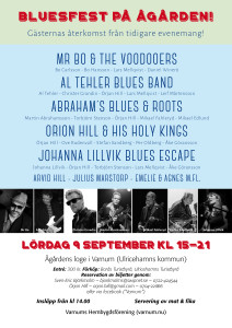vhf.Bluesfest Ågården 2017